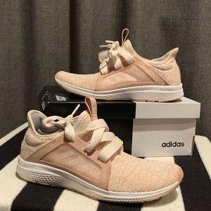 Adidas Edge Luxe Lightweight Running Shoe - Blush